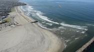 Stock Video Footage of beautiful beach aerial san diego