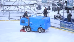 Snow-remover Stock Footage