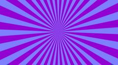 Starburst purple and blue Stock Footage