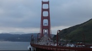 Stock Video Footage of SF Golden Gate Bridge MVI 3976