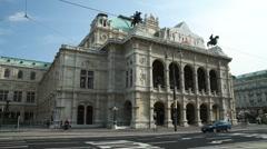 0040 Vienna State Opera Stock Footage