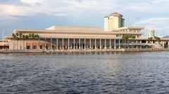 Tampa Convention Center 2 Stock Footage