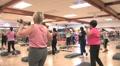 Women in Fitness Class Footage