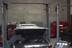 Automotive Garage Stock Footage