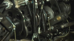 Crankshaft Stock Footage