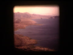Lake Meade 1970 Stock Footage