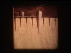 Hoover Damn - stock footage