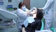 Dental health service - stock footage