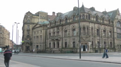 The Literary and Philosophical Society, Newcastle upon Tyne Stock Footage