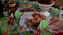 Romani traditional culture Stock Footage