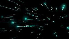 Jet Streams Particle in Space Stock Footage
