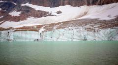 Melting Angel Glacier Stock Footage
