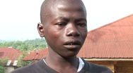Stock Video Footage of boy crying sierra leone
