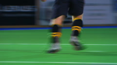 Hockey feet Stock Footage