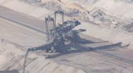 Stock Video Footage of Tagebau Hambach: strip mining lignite