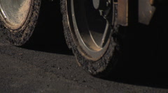 Truck tires Stock Footage