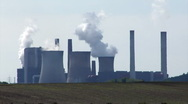 Stock Video Footage of Lignite-fired power plant Eschweiler-Weisweiler, Germany