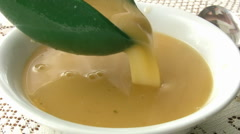 Hot Vegetable Soup Stock Footage