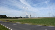 Stock Video Footage of Ignite-fired power plant Grevenbroich-Neurath, Germany
