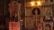 Orthodox Christian ritual Stock Footage