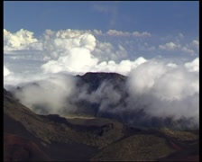 Haleakala timelap 01 Stock Footage