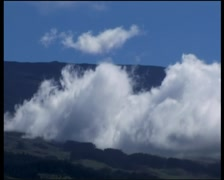 Clouds at Haleakala Stock Footage