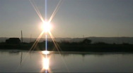 Stock Video Footage of inlay lake Burma sunset