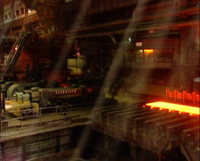 Metal production 028 Stock Footage