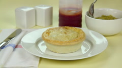 Making Pie With Peas Stock Footage