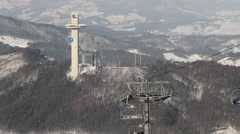 Pyeongchang 2018 winter olympic Stock Footage