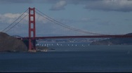 Stock Video Footage of SF Golden Gate Bridge MVI 4305