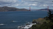Stock Video Footage of SF Golden Gate Bridge MVI 4310