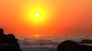 Stock Video Footage of Sunrise Port Elisabeth South Africa7