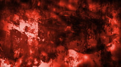 Grunge Red Abstract Looping Animated Background X33 Stock Footage