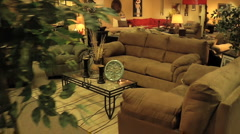 Generic Furniture Store TV Spot Stock Footage