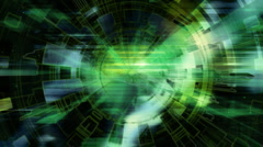 Science Fiction Looping Animated Background Stock Footage