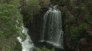 Waterfall In Wet Season Australia Stock Footage