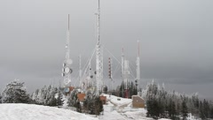 Radio Tower Stock Footage