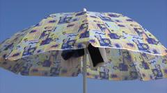 Sunshade Stock Footage