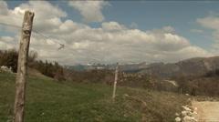 Mountain view Stock Footage