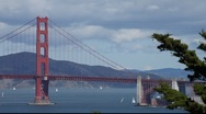 Stock Video Footage of SF Golden Gate Bridge MVI 4326