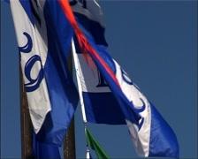 Pier 39 Flags, San Francisco GFSD Stock Footage