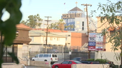 Scientology building in Los Angeles (4) Stock Footage