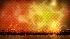 Hot carbon fiber background with sparks HD Stock Footage