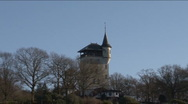 Palthetower, zoom-out Stock Footage