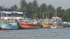 Port, Sri Lanka Stock Footage