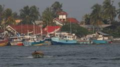 Port, Sri Lanka Stock Footage