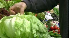 Greengrocery Stock Footage