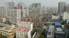 Shanghai compounds Stock Footage