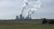 Stock Video Footage of Lignite-fired power plant Niederaussem, Germany
